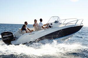 Лодка QUICKSILVER ACTIV 605 SUNDECK