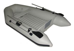 Лодка DINGHY 240 - надуваем под PVC