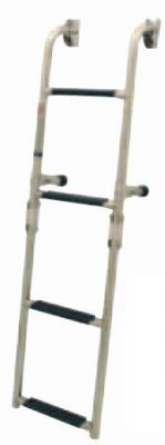 Сгъваема стълба за транцева дъска 3 стъпала